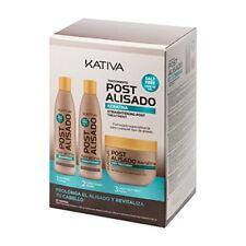 Champú y acondicionador Kativa 3 de 250 ml. (total 750 Ml.)