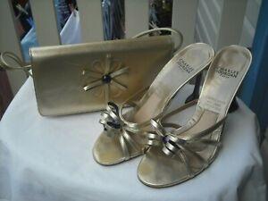 Charles Jourdan (Paris) Ladies Women's Shoes Euro Size 38 & Matching Handbag