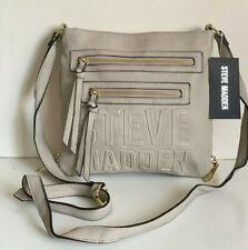 NEW! STEVE MADDEN BCARA BISQUE CROSSBODY MESSENGER SLING BAG PURSE $68 SALE