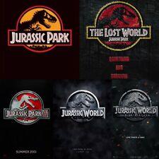 Jurassic Park, World, Fallen Kingdom Movies (4K/Blu-ray/Dvd) New & Choose