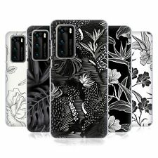 OFFICIAL HAROULITA BLACK AND WHITE 5 HARD BACK CASE FOR HUAWEI PHONES 1