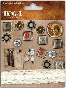 Brads Epoxy Metal Buttons Paper Fasteners Scrapbooking Art Crafts Card Making