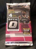 2019-20 Panini Donruss Optic NBA Mega Pack Zion Herro Luka Morant LeBron Silver