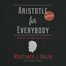 Aristotle for Everybody by Mortimer J. Adler MP3MP3MP3CD Unabridged 2012