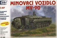 SDV Kunststoff Modellbausatz 1:87 H0 Minenleger Panzer MV-90 Kampfpanzer