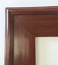 Picture Frame 11x14 Traditional Wood Grain Style Cherry Red Dark Highlights 38C