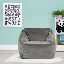 Icon Natalia Kids Velvet Bean Bag Armchair