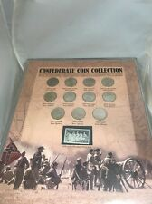 Confederate Coin Collection With Confederate State Quarters And Stone Mt Stamp