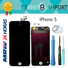 Pantalla completa boton Home Camara Apple iPhone 5 negro nueva