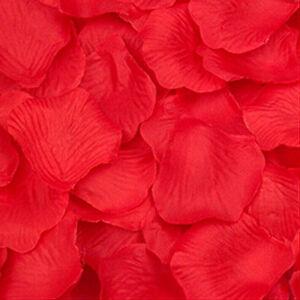 100/1000pcs Rose Flower Petals Confetti Floral Wedding Party Table Venue Decors
