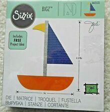 Sizzix Bigz Fabric Cutting Die Sailboat #66253 Quilts Sewing Scrapbooks New Unus