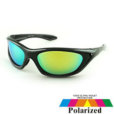 Polarised UV400 Yellow Lens Driving, Sport, Fishing Sunglasses Eyewear & Case