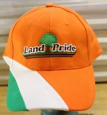 Land Pride Farm Tractor Implements Orange Embroidered 5 Panel Hat -Agriculture