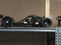Hpi Baja 5b CARBON FIBER Build. OBR 34cc Brp Wheels Carbon Fiber Roof Scoop +