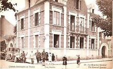 France Nantes Vise - USA AEF Army Headquarters Soldier old unused postcard