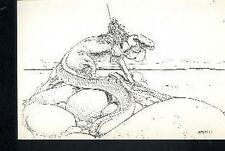 MOEBIUS Jean Giraud Arzach 3/10 carte postale cp Tirage Limité Editions Gentiane