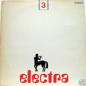 LP / ELECTRA / DDR FOLK / ROCK / RARITÄT /