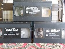 3 Classic The Wiggles VHS videos: Toot Toot!, Wiggle Time and Whoohoo Wiggly Gre