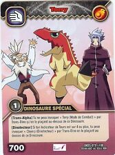 Carte Card Game DINOSAUR KING DKDS - 79 /100 TERRY Dinosaure Special VF