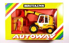 Britains Autoway JCB Digger With Man 1:32 Scale 9814. M25