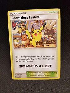 Pokemon 2019 Champions Festival Semi Finalist SM231