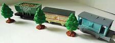 Thomas  Sodor Mining Car Ice Cream Train Breakvan Trackmaster Plus 3 Trees