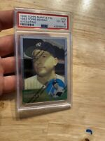 Mickey Mantle PSA 6 Ex 1996 Topps Finest #13 Yankees Collector W/ Coating Wow NR