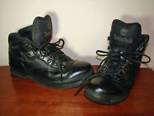 TIMBERLAND Euro Men's Black Leather Hiking Boots 56038 Size 10M
