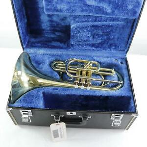 Yamaha Model YMP-201M Marching Mellophone SN 203350 NEW OLD STOCK!