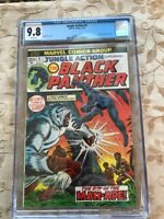 Jungle Action Black Panther- 5  &  6 Cgc 9.8 WP - Key! WILL SELL SEPARATELY