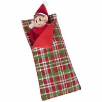 Naughty Elf Sleeping Bag Tartan Accessory Elves Behaving Badly Christmas Gifts