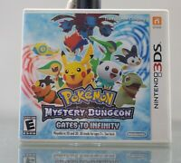 Pokemon Mystery Dungeon Gates to Infinity Replacement Case NO GAME Nintendo 3DS