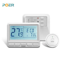 868MHz wireless room controller programmable boiler digital wifi thermostat APP