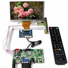 "HDMI VGA AV Audio USB  LCD Controller Board 6.5"" AT065TN14 800x480 LCD Screen"