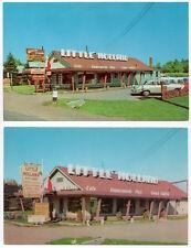 Two Postcards Little Holland Tea Room & Gift Shop in Haugen, Wisconsin~107854