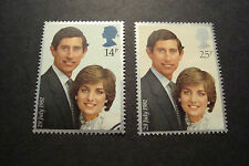 GB 1981 Commemorative Stamps~Wedding~Very Fine Used Set~(ex fdc)UK Seller