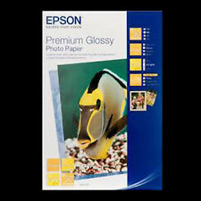 "EPSON PREMIUM PAPIER PHOTO BRILLANT 6x4"" (15x10cm) 50 Shts Next Day DEL.. S041729"