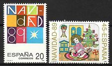 Spain - 1989 Christmas - Mi. 2916-17 MNH
