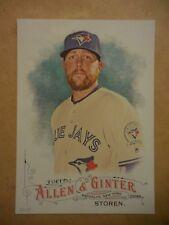 2016 Topps Allen & Ginter 5x7 2/49 #204 Drew Storen Blue Jays