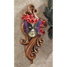 Butterfly Countess Venetian Carnival Mardi Gras Mask Wall Sculpture