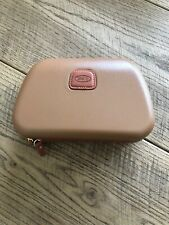 Tan BRICS Qatar Airways First 1st Class Amenity Kit, Use As Makeup Bag Or Case