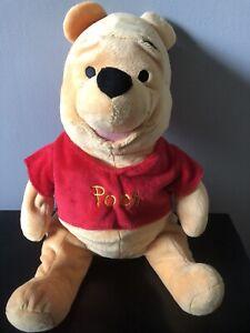 "Disney Winnie The Pooh Pooh Bear Large Stuffed Plush Animal Toy Super Soft 15 """