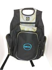 New Dell Backpack Messenger Bag Lots Of Pockets And Storage Black Tablet Laptop