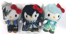 Hello Kitty x Tales of Series Plush Doll Mascot x3 Mikurio Ludger Jude Game F/S