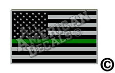 """Two 3"""" Tgl Subdued Tactical American Flag Non-Reflective Decal Stickers (Ff)"""