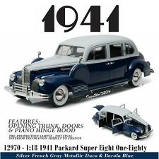 GREENLIGHT 12970 1941 PACKARD SUPER EIGHT ONE-EIGHTY DIECAST CAR 1:18 NEW!!
