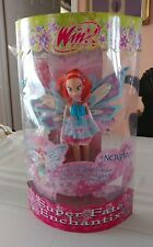 2008 Giochi Preziosi Winx Club Bloom Super Fate Enchantix doll!! BNIB! RARE!!