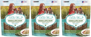 (3) PURINA THE PIONEER WOMAN CHICKEN & APPLE RECIPE JERKY STRIPS FOR DOGS 5 OZ.