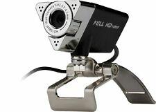 Aluratek Hd 1080P Video Webcam Pc/Mac, Desktop/Laptop Video Call Usb Awc01F New