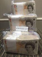 Random Serial Number Andrew Bailey Last Of The £10 Paper Banknotes Crisp VGC